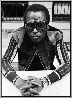 How's this for a little patch work perfection?  Miles Davis.