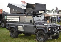 Another fine looking and well prepared Land Rover Defender. It is almost unbelievable to think that this iconic vehicle will cease production very soon. What will replace it? Who knows; I am not even sure Land Rover could answer the question right now.
