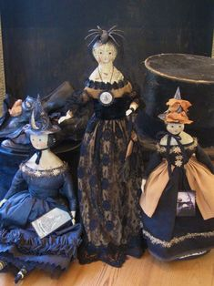 Nicol Sayre's lovely creations for Halloween