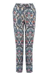 Ahhh, loving these print trousers. ORNATE DELFT PRINT TROUSER #pants #covetme #oasis