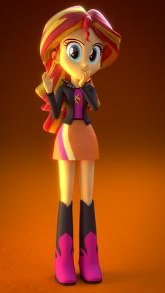 sunset shimmer eg 3d model !!!!!!!!!!!!!