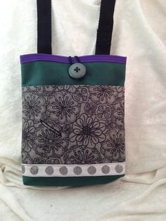 Unique Cross Body Tote that is convertible to by SueBeeDesigns2012