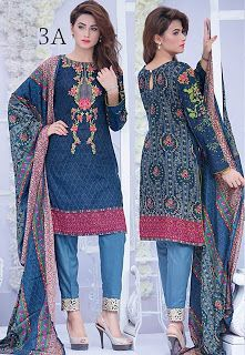 Sahil Embroidered Eid Lawn Collection 2016 Volume 2 By ZS Textiles