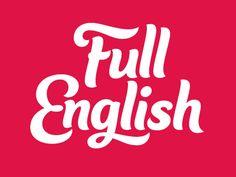 Rob Clarke Typography – Full English