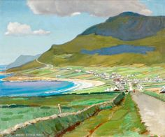 BBC - Your Paintings - Dooagh, Achill by Harry Cooke Knox