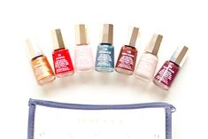 Mavala Nail Polish || Beautiful Fall nail polish colours
