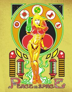 Metroid: Hippy Style - Japanese Ghost | a tribute to 8-bit nerds