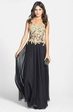 Laundry By Shelli Segal Embellished One Shoulder Jersey Gown Available At Nordstrom 278 New Year S Eve Wedding Ideas Pinterest