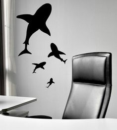 shark wall decals - Google Search
