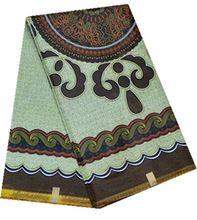 Nice ankara african wax print fabric for sewing KWJ-53 (6yard/lot)(China (Mainland))