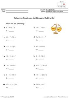 math worksheet : primaryleap co uk  balancing equations  multiplication and  : Multiplication And Division Equations Worksheets