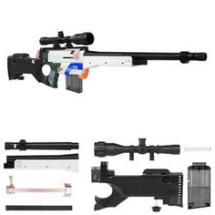 WORKER MOD AWP Sniper Barrel Printing Parts. WORKER MOD Scope Printing Parts. We provide services on customize blaster with parts, printing and paint works. Worker MOD AWP Sniper kit bring your Nerf Retaliator to another state of tactical performance. Sniper Rifles, Paintball, Nerf Snipers, Nerf Longshot, Arma Nerf, Cool Nerf Guns, Nerf Darts, Nerf Mod, Weapon Concept Art