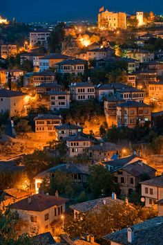 Safranbolu at Night(Karabük,Turkey)  / A beautiful, ancient, small town of Turkey,  by Zeka Saglam