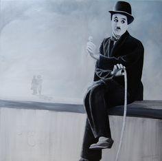 paweł widera /the end?/ original acrylic paintings art