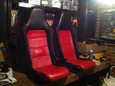 Stanced miata mx5  vx220 seats