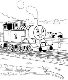 Thomas Coloring Page Thomas Amp Friends Coloring Pages For