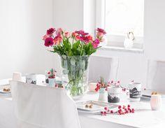 Blog Birthday • Table setting • Flower • Decoration
