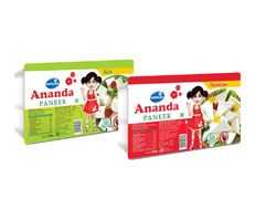 Ananda is one of the leading paneer brands in India to supply fresh and healthy high quality paneer.  The paneer is soft, full of fresh taste and ideal for cooking curries.To know more visit:-http://www.rsdgroup.in/gopaljee-ananda/paneer.html