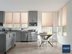 Hunter Douglas Applause® Honeycomb Shades with PowerView® Motorization | Available at Avalon Flooring | #windowtreatments #hunterdouglas #windowcoverings #homedesign