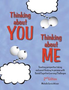 Speech Room News: Thinking About You, Thinking About Me {Social Thinking Review} Pinned by SOS Inc. Resources. Follow all our boards at pinterest.com/sostherapy for therapy resources.