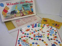 Vintage Winnie the Pooh Board Game 1964