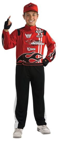 kids costumes race car driver costume halloweencostumes4ucom 3515