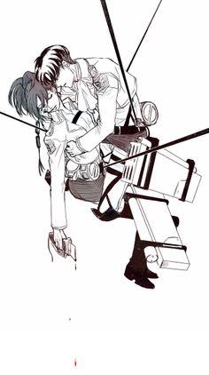 LeviHan | Levi / Rivaille Ackerman x Hanji / Hange Zoe | Attack on Titan / Shingeki no kyojin / AoT / snk | OTP
