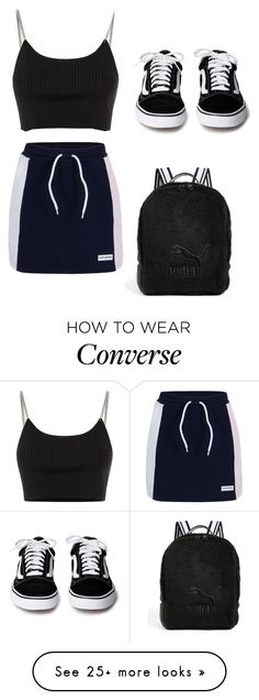 """""""OWF"""" by bernadette-dorbu on Polyvore featuring Converse, Alexander Wang and Puma"""
