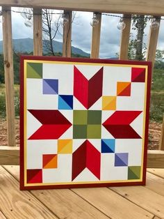 Remarkable photo - pay a visit to our report for much more good tips! Barn Quilt Designs, Barn Quilt Patterns, Quilting Designs, Big Block Quilts, Star Quilts, Quilt Blocks, Painted Barn Quilts, Barn Signs, Barn Art