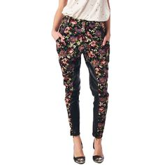TOV Women's Floral Dress Pants via @40