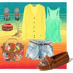 Summer Sunshine, created by ceciliaasbridge.polyvore.com
