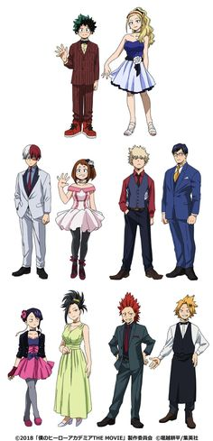 Reveal character designs from the movie Boku no Hero Academy The Movie: … - hero academia My Hero Academia Memes, Hero Academia Characters, My Hero Academia Manga, Boku No Hero Academia Funny, Tim Burton, Boku No Hero Uraraka, Deku Boku No Hero, Deku Cosplay, Boku No Academia