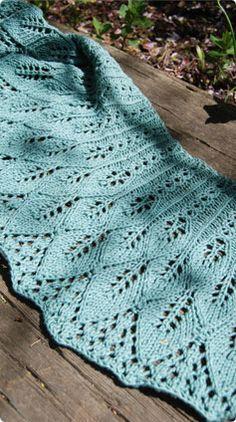 Classic Elite Yarns Cotton Bam Boo Kudzu Shawlette free pattern