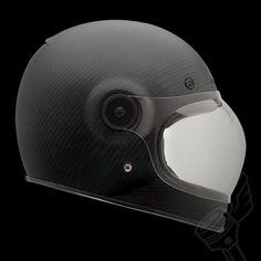 Matte Black BELL Bullitt Carbon Full Face Helmet