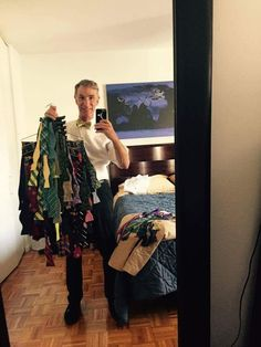 Bill nye and his bow ties for national bow tie day. - Imgur