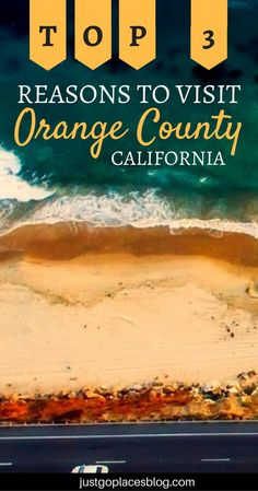 Orange County is such a wonderful area! The ocean, the piers, the surf, and some cute little towns... read on for the top 3 reasons to visit Orange County, California. | Orange County things to do | What to do in Orange County, CA | Orange County travel guide | What to do in Southern California #OrangeCounty #OrangeCountyCalifornia - via @justgoplaces
