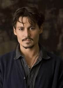 johnny depp. Something about his eyes makes my heart pound.