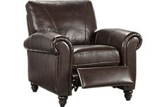 Cindy Crawford Home Lusso leatherrecliner (color: coffee bean)-Rooms To Go
