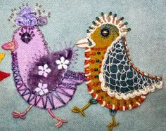 Getting Older: embroidery