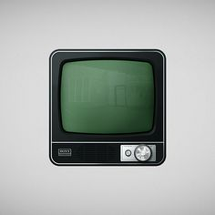 Icon Tv by Onga White Dog, via Behance