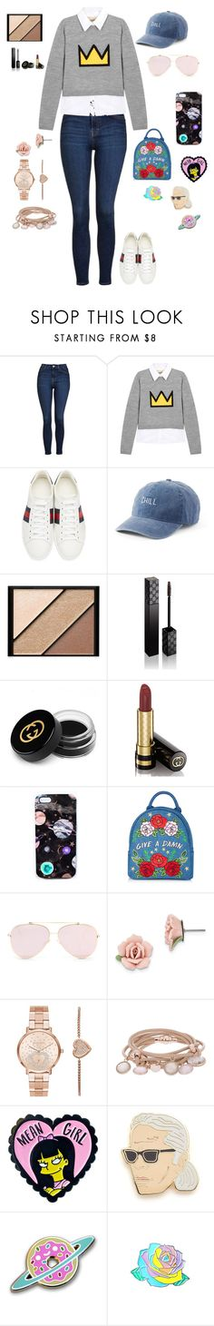 """Untitled #217"" by jenni-xo-nunez-13 ❤ liked on Polyvore featuring Topshop, Alice + Olivia, Gucci, SO, Elizabeth Arden, Nikki Strange, 1928, Michael Kors, Marjana von Berlepsch and Georgia Perry"
