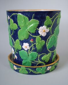 circa 1863 Minton Majolica jardiniere - this will set you back $2,500