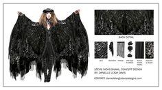 Stevie Nicks Shawl Design by Danielle Leigh Davis by Danielle Davis