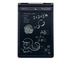 Boogie Board 10.5in LCD Writing Tablet - 10.5 inches of tablety goodness. Write, save, and erase over and over again. Scared of accidently erasing something? No problem. Just turn on the erase lock. The harder you push on the stylus, the thicker the lines drawn. Neat!