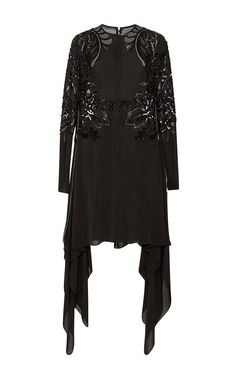 Embroidered Double Georgette Tunic by ELIE SAAB for Preorder on Moda Operandi