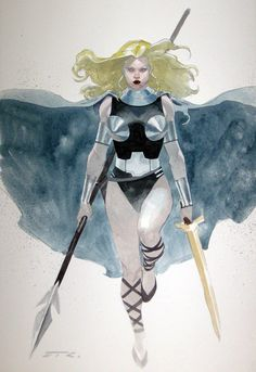The Valkyrie by Esad Ribic
