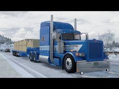 Peterbilt 389, American Truck Simulator, Gliders, Transportation, Trucks, Truck