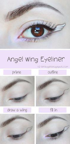 Angel Wing Eyeliner Tutorial