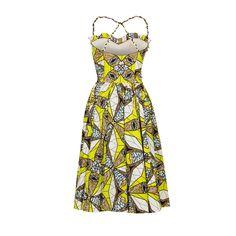 Gazelle Dress caleidoscope - Last Season - Online Shop - Lena Hoschek Online Shop