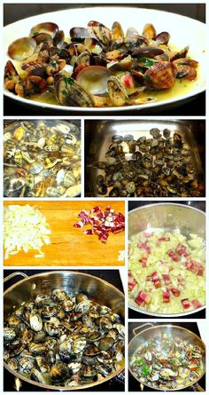 Vongole withPancetta - Claims with Bacon
